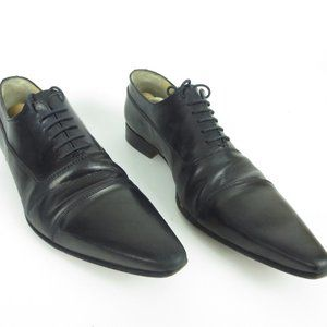 DOLCE & GABBANA Dress Shoes Black Leather